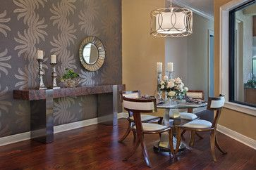 Dinette - contemporary - kitchen - tampa - KDS Interiors, Inc.