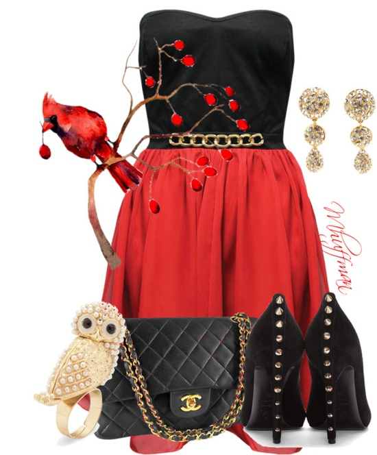 """Cardinal"" by mhuffman1282 on Polyvore"