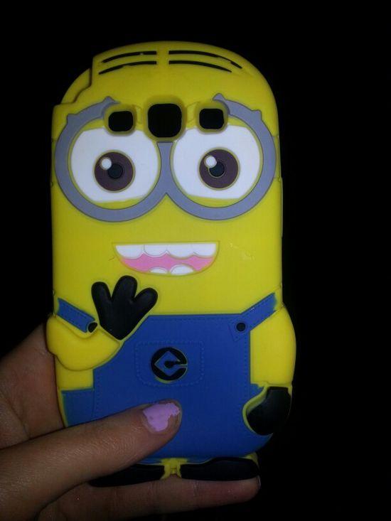 New phone case. Minion!