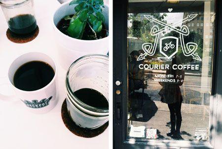 Courier Coffee // Portland Getaway + Weekend Travel Tips