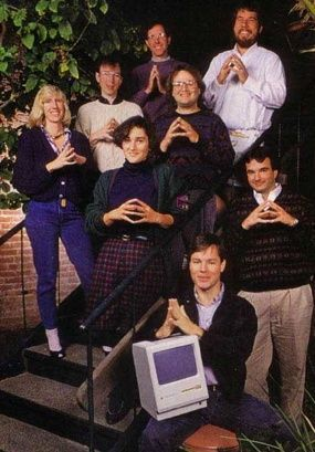 Funny photos of the original Macintosh team, perfect Friday afternoon entertainment - Mac