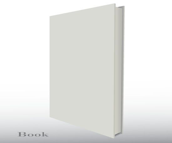 Blank Empty 3d Book Cover Free