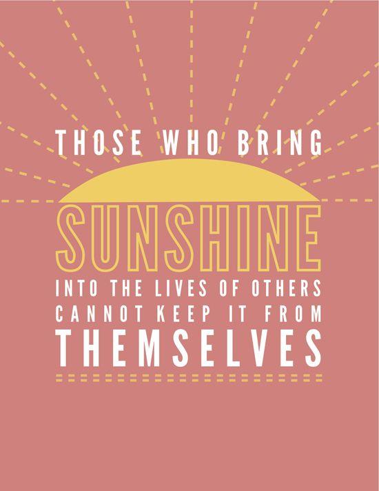sunshine girl!!! :D
