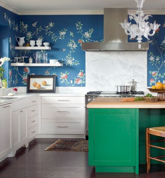 Kitchens With Color