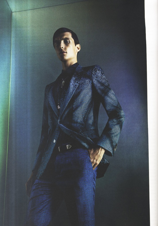 Hero UK #editorial featuring the Roberto Cavalli Menswear SS 2013 collection.