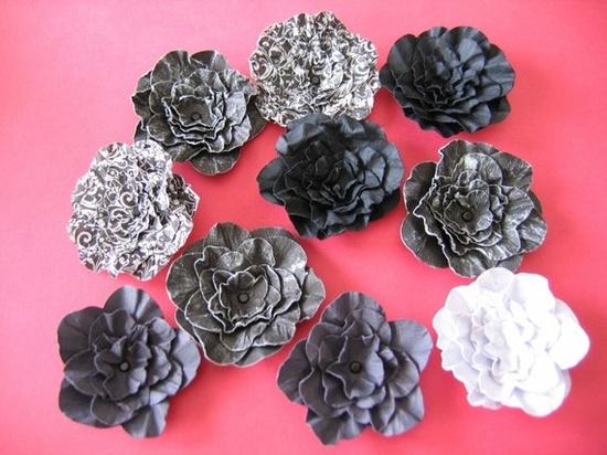 handmade paper flowers • mcfunk90