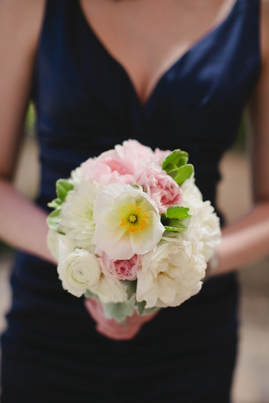 one little poppy in this gorgeous bouquet  Photography By / andrialo.com,Floral Design By / poppystonedesigns...