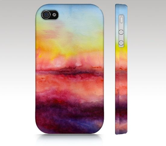 iPhone Case iPhone 5 case iPhone 4s watercolor by RoveStudio, $36.00