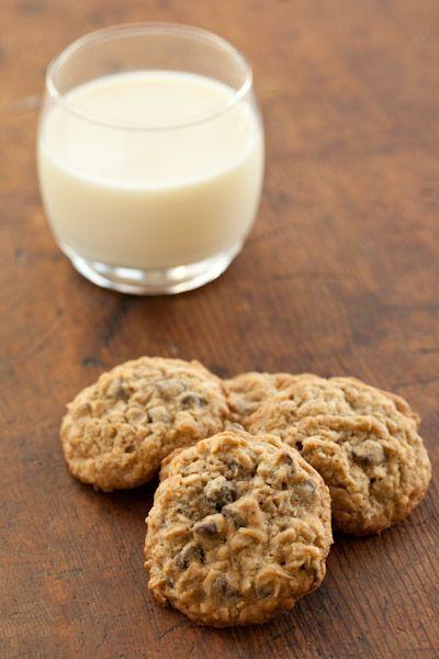 Oatmeal Coconut Chocolate Chip Cookies - Pinch My Salt