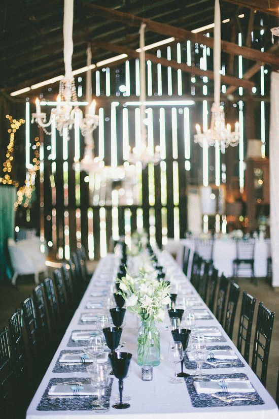 Victorian-glam wedding reception // photo by onelove-photo.com