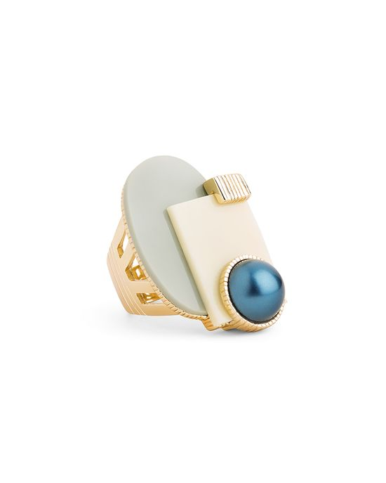 Abstract Art Ring......love this.
