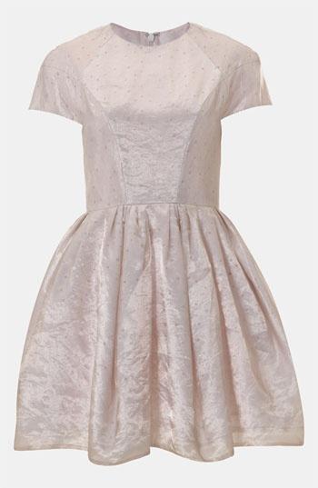 Topshop Organza Party Dress