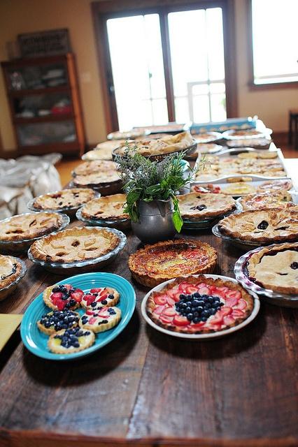 Pie heaven!
