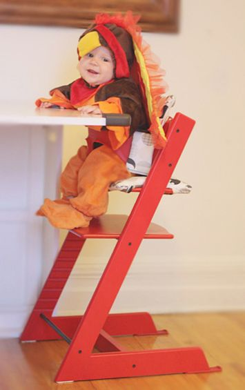 Little turkey in his Tripp Trapp! #TrippTrapp #Stokke #StokkeLove
