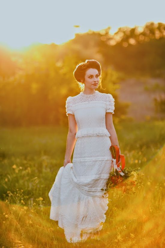 Retro bridal chic  |