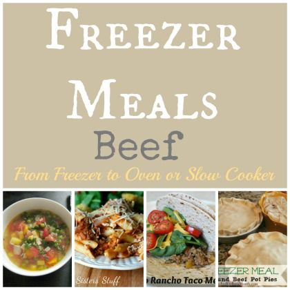 17 Beef Freezer Meals using your Slow Cooker or Oven