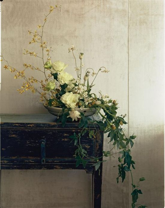 Ikebana - Flowers of Japan.