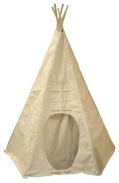 Dexton Powwow Lodge Round Door Canvas Teepee modern kids toys