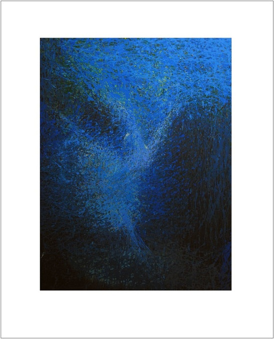 Abstract Ballet Print  Ballet Dancer Print  Blue by Pysar on Etsy, $68.00