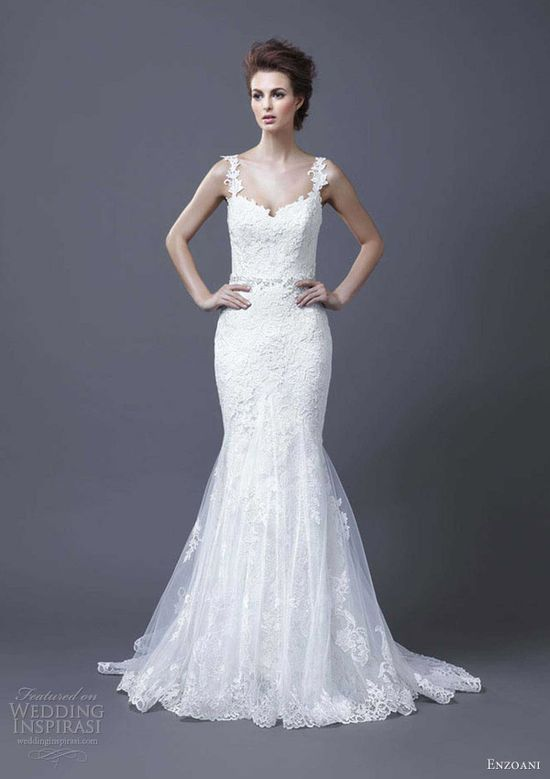 enzoani bridal 2013 hanako wedding dress straps