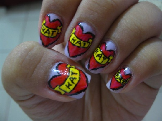 nail art tatoo