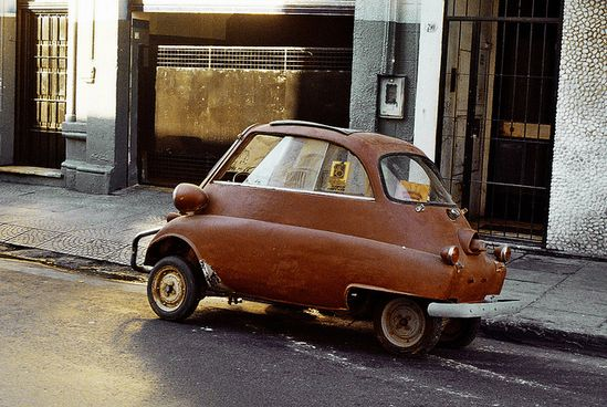 Smart car vintage.