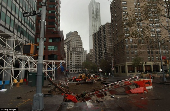 Hurricane Sandy 2012 pictures: FIFTY DEAD... and it's NOT over