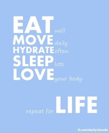 Do your workouts regularly and eat well if you love your body! #Motivation #Inspiration #Workout #Exercise #Fitness #Health