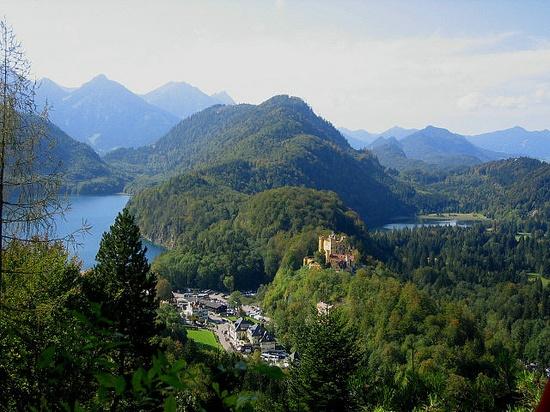 Hohenschwangau, Bayern, Bavaria
