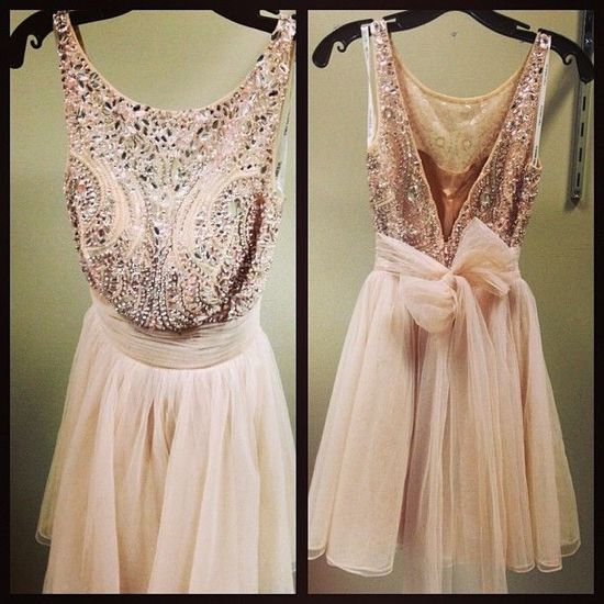 Powder pink sequin party dress.                              Omggg!!!Totally Loving it!