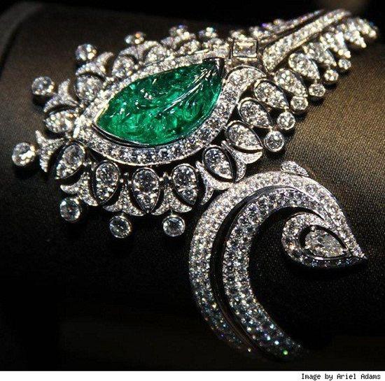 Cartier Emerald & Diamond Bracelet
