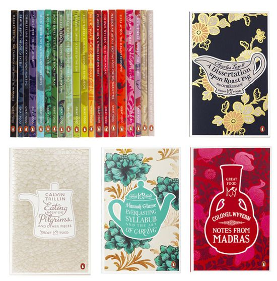 great food book covers