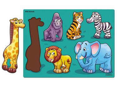 Wild Animals Puzzle at Lakeshore Learning