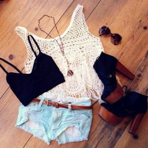 the perfect summer outfit