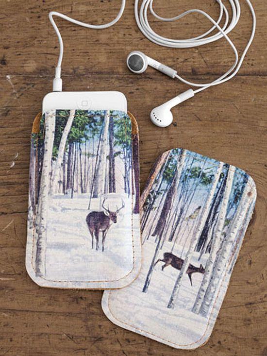 DIY iPhone Cases (last minute DIY gift idea)?