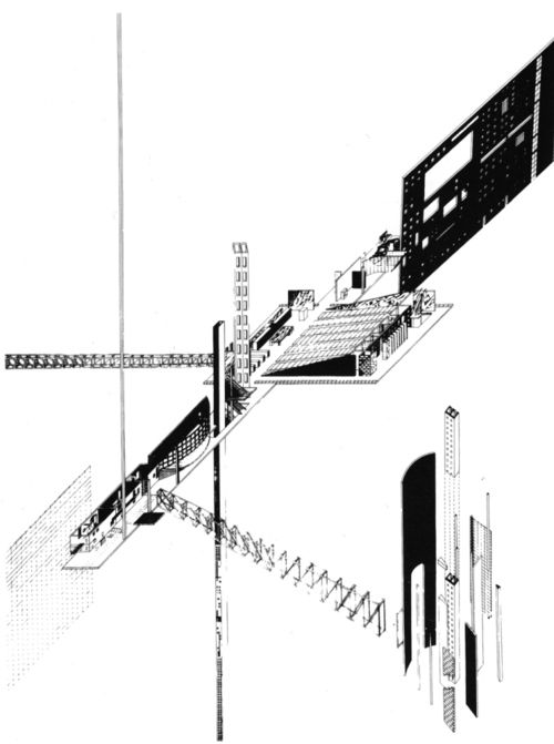 Zaha Hadid, Extension of the Parliament Building,...