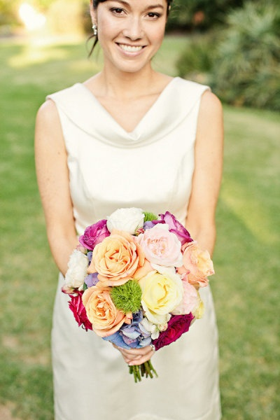 Multi color wedding bouquet