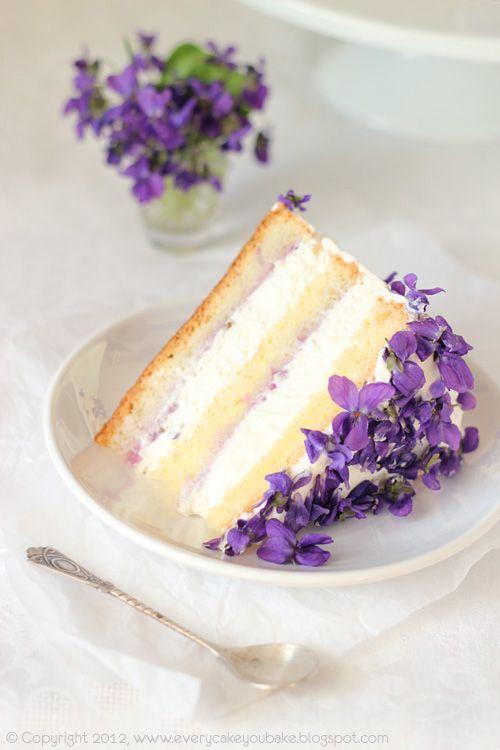 High Tea Cakes - Violet Cake