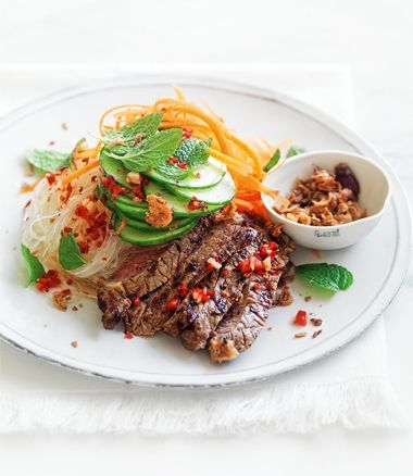 // Vietnamese beef salad