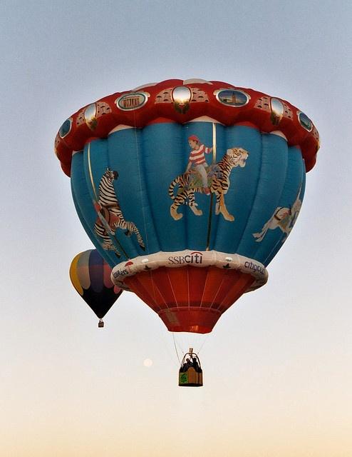 Carousel #Pinterest Hot Air Balloons