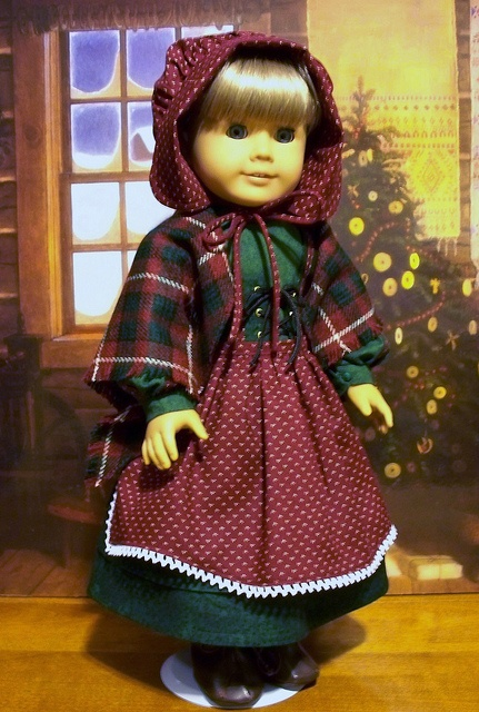 4pc. Christmas ensemble for Kirsten by Keepersdollyduds, via Flickr