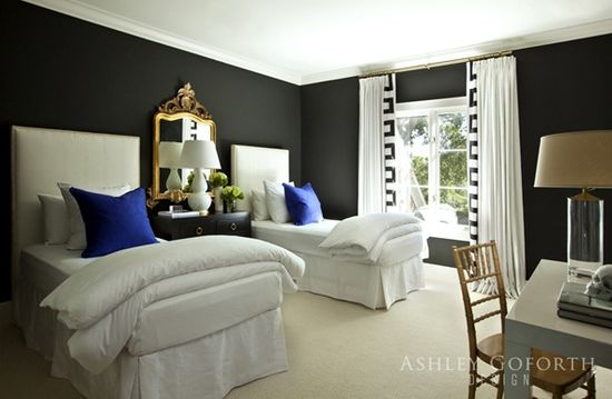 Love this bedroom by Ashley Goforth!