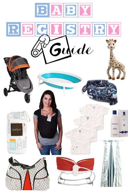Baby reistry guide, baby products