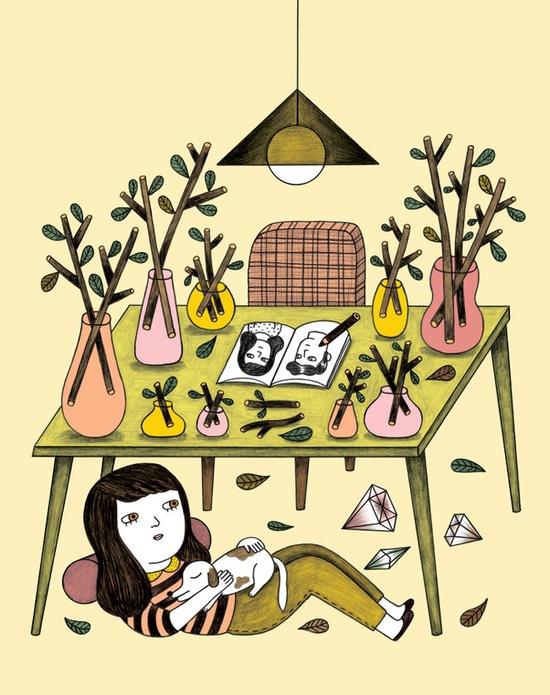 Ana Albero illustrations