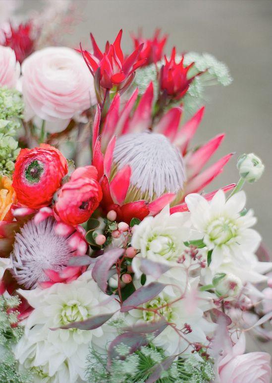 peonies, ranunculus, proteas, snowberries, dahlias, hydrangeas & astilbe