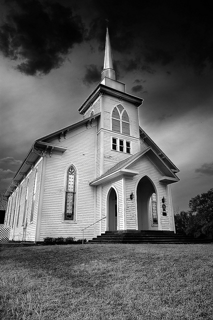 First Methodist Church in Jefferson, Texas. Photo by Kerry Carloy.