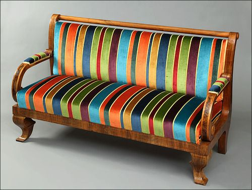 i could build a room off of this couch, the colors are so vibrant.