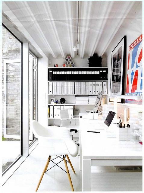office cabin.