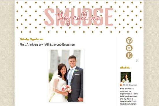 CUSTOM BLOG DESIGN  by a trained graphic designer  by SmudgitBug