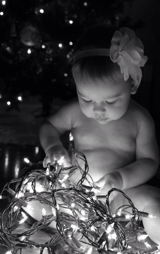 we did one like this for Mckenzie's first Christmas but i think it will be a yearly pic its so cute!!:)